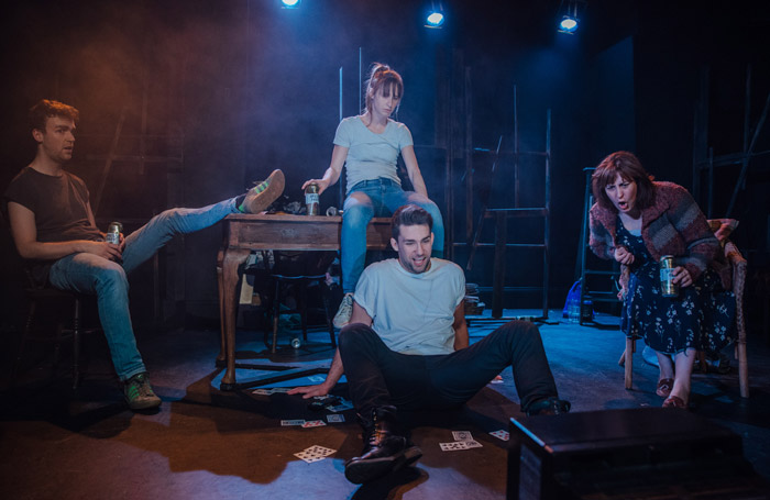 The cast of House of America at Jack Studio Theatre, London