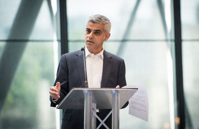 Sadiq Khan at the London Borough of Culture launch