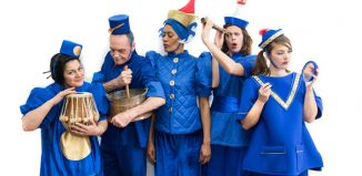 Oily Cart's adaptation of Kubla Khan for deafblind children. Photo: Neal Houghton