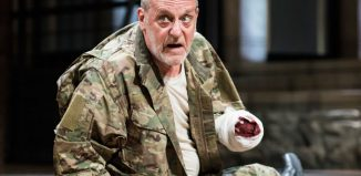 David Troughton in Titus Andronicus at the Royal Shakespeare Theatre. Photo: Helen Maybanks