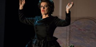 Mary Plazas in Opera Theatre Company's Powder Her Face. Photo: Patrick Redmond