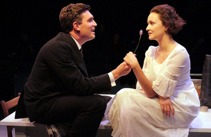 Jean Sheldon and Charlotte Hamblin in Miss Julie at Theatre by the Lake, Keswick. Photo: Keith Pattison