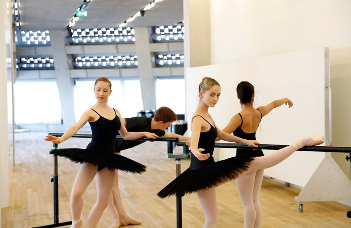 Students at the Central School of Ballet, which will move to Southwark in 2018