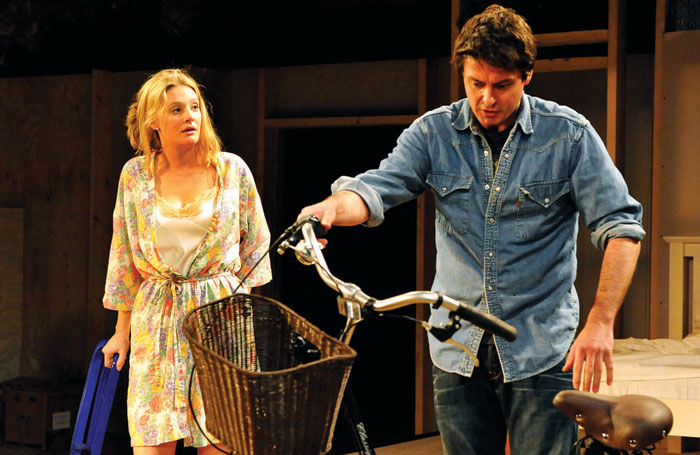 Romola Garai in The Village Bike at London's Royal Court in 2011. Photo: Keith Pattison