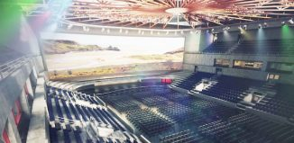 Artist's impression of the Swansea arena