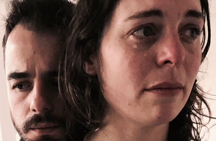 Craig Edgley and Helen Foster in God of Hell. Photo: Craft Theatre