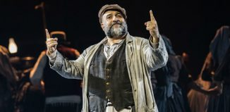 Omid Djalili in Fiddler on the Roof at Chichester Festival Theatre. Photo: Johan Persson