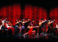 The cast of Tanguera at Sadler's Wells, London