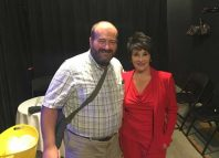 Mark Shenton and Chita Rivera