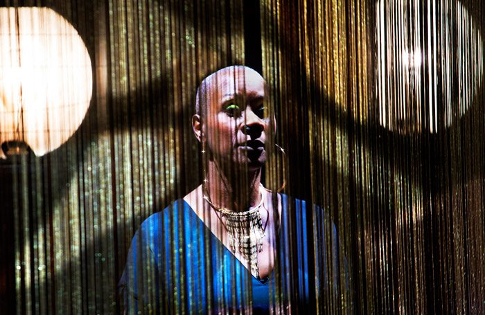 Josette Bushell-Mingo in Nina at Young Vic, London. Photo: Simon Annand