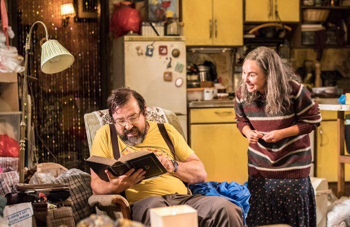 Daniel Ryan and Samantha Spiro in The House They Grew Up In at Minerva Theatre, Chichester. Photo: Johan Persson