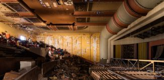 The derelict Savoy Cinema will be turned into an arts centre. Photo: Luke Hayes