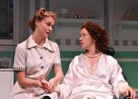 Charlotte Peak and Jessica Boyden in Treating Odette at Upstairs at the Gatehouse, London