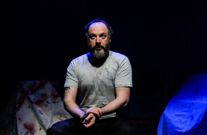 Paul Kennedy in Continuity at the Finborough Theatre, London. Photo: Gary Wolf