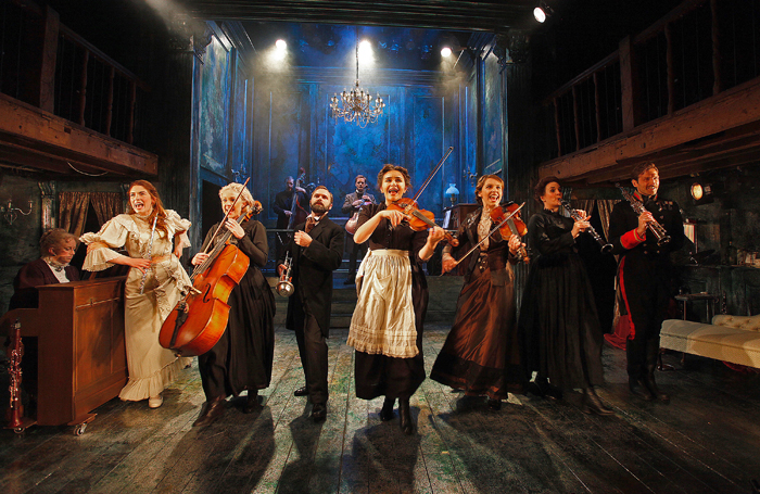 The company of A Little Night Music at the Watermill Theatre, Newbury. Photo: Philip Tull