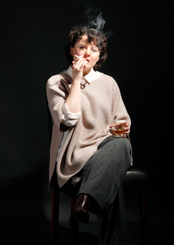 Monica Dolan in the promotional image for The B*easts. Photo: Alan Harris