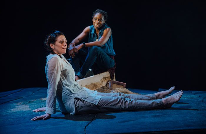 Neve McIntosh and Sharon Duncan-Brewster in Meet Me At Dawn. Photo: David Monteith Hodge