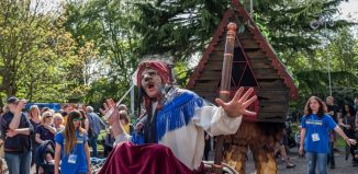 Dizzy O'Dare's Baba Yaga's House, a production supported by Without Walls. Photo: Dibs McCallum