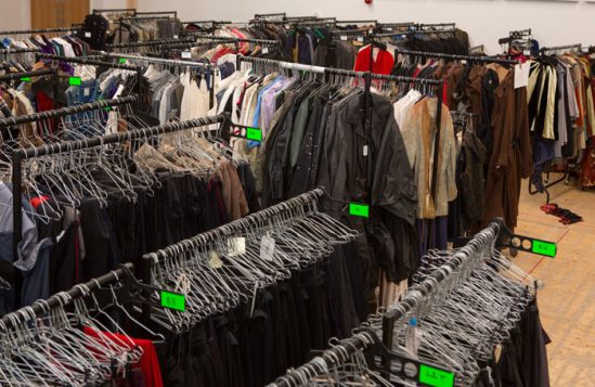 Costume store sale, September 2017. Photo: Lucy Barriball