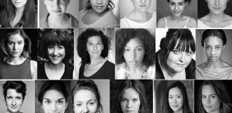 Members of Dangerous Space, a new all-female theatre company. Photo: Dangerous Space