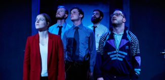 The Wardrobe Ensemble's Education, Education, Education at Pleasance Dome, Edinburgh. Photo: The Other Richard