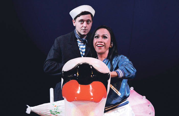 Ash Palmisciano and Victoria Gigante in Summer in London at Theatre Royal Stratford East