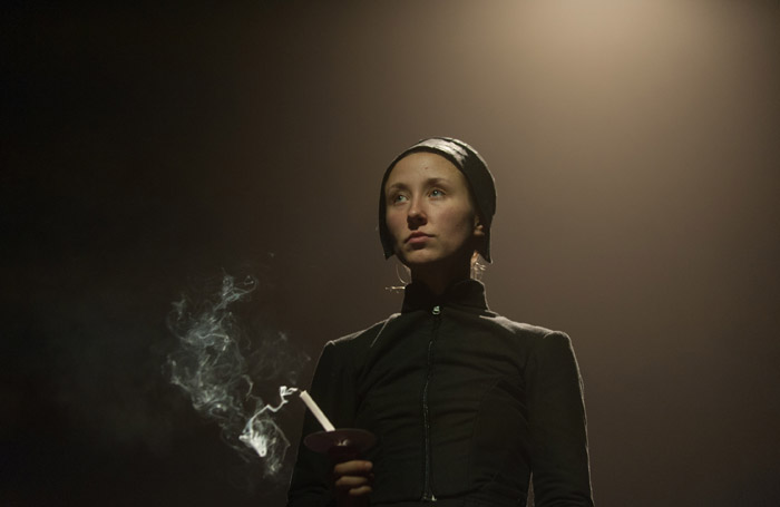 Erin Doherty in The Divide at King's Theatre, Edinburgh. Photo: Marc Marnie