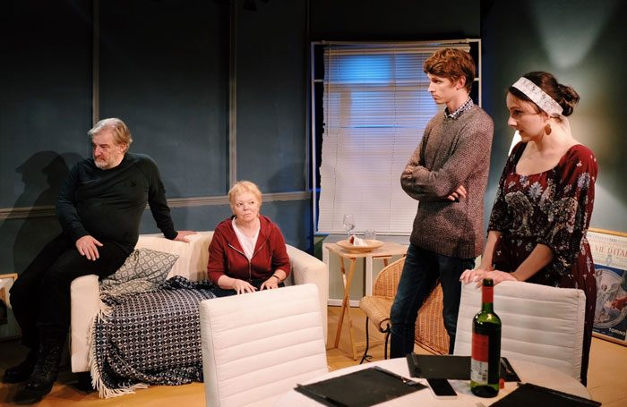 catastrophists review the white bear theatre london. Black Bedroom Furniture Sets. Home Design Ideas