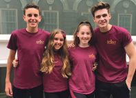 Harry Tunningley, Caitlin Garcia, Jessica Helfgott and Tyler Davis