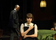 Will Keen and Ophelia Lovibond in The Stepmother at Chichester Festival Theatre. Photo: Catherine Ashmore