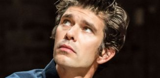 Ben Whishaw in Against at the Almeida Theatre. Photo: Johan Persson