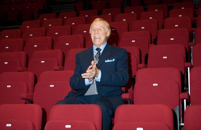 Bruce Forsyth. Photo: Robert Workman