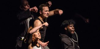 Cast of Flesh and Bone. Photo: Heather Pasfield