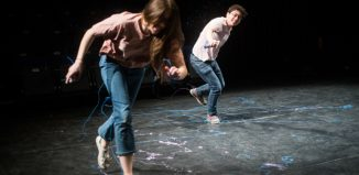 Clara Potter-Sweet and Ben Kulvichit in Celebration at Zoo, Edinburgh. Photo: Giulia Delprato