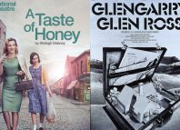 The exhibition will feature posters including those for A Taste of Honey, designed by Charlotte Wilkinson (2014) and Glengarry Glen Ross, designed and illustrated by Richard Bird (1983). Photos: Phil Fisk/Conroy-Hargrave