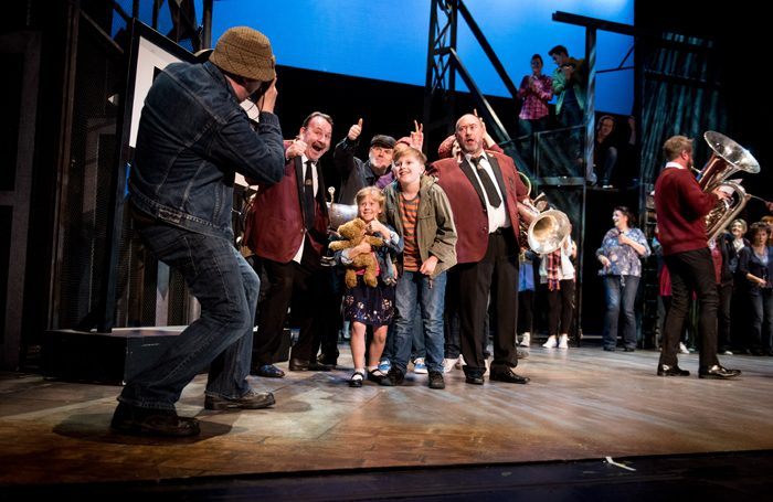 Brassed Off at the Wolverhampton Grand Theatre. Photo: Graeme Braidwood