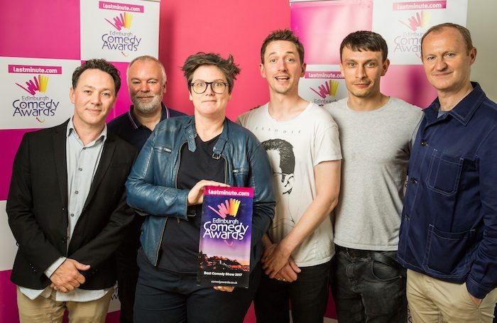 'Extraordinary' scenes as Edinburgh comedy award shared for the first time