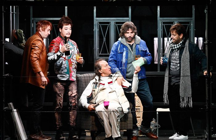 The cast of La Boheme at Festival Theatre, Edinburgh