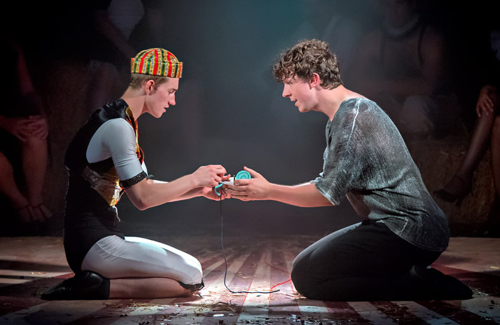 Scene from Pippin at Hope Mill Theatre, Manchester. Photo: Anthony Robling