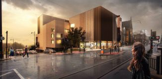 Designs for the new Oldham Coliseum