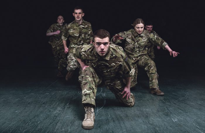 Dance piece to be live-streamed online from army drill hall