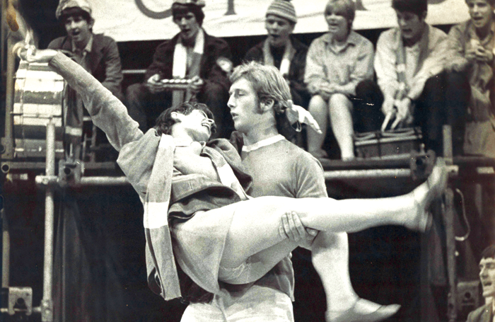 A scene from National Youth Theatre's original 1967 production of Zigger Zagger. Photo: John Haynes