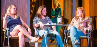 The cast of August: Orange County at Dundee Repertory Theatre