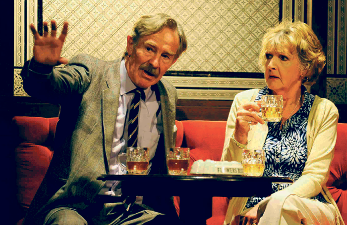 Christopher Ravenscroft and Penelope Keith in Good Grief at Theatre Royal Bath