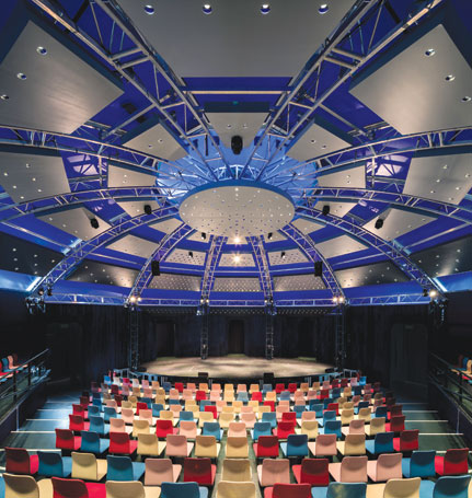 Artist's impression of the Mix's interior. Photo: Simon Kennedy