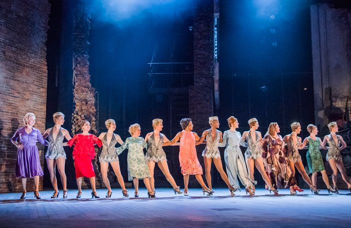 Cast of Follies at the National Theatre. Photo: Tristram Kenton