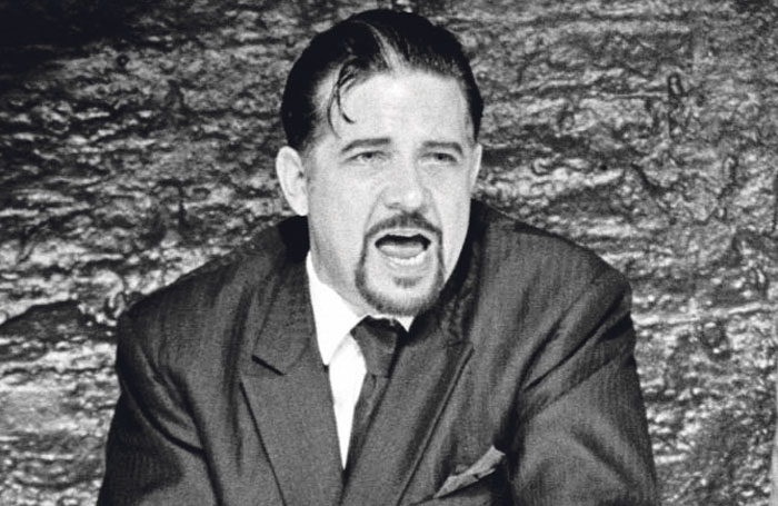 Quast in The Fix at the Donmar Warehouse, London, in 1998. Photo: Tristram Kenton