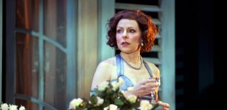 Amanda Prynne in London Classic Theatre's Private Lives. Photo: Sheila Burnett