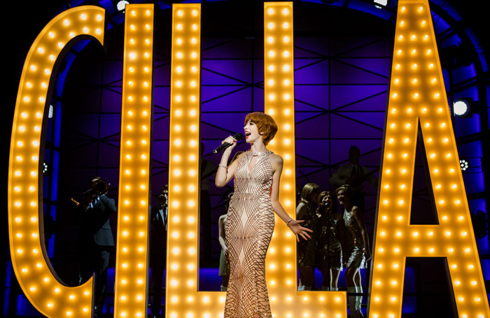 Kara Lily Hayworth in Cilla The Musical at Liverpool Empire. Photo: Matt Martin