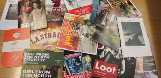 Theatre programmes vary in size andquality. Photo: Louise Miles